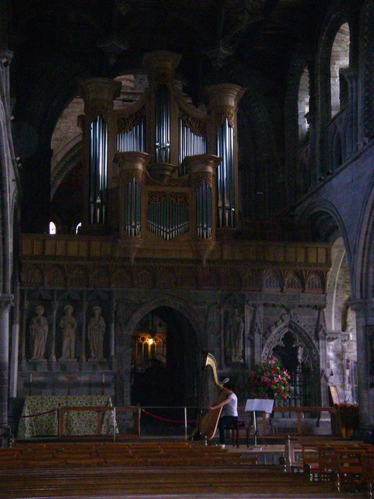 Solo recital at St David's Cathedral // May 2010