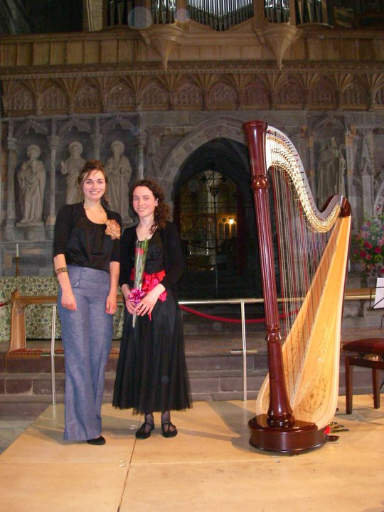 Premiere of Claire Robert's 'Tribute to a Harpist' // St David's Cathedral // May 2010