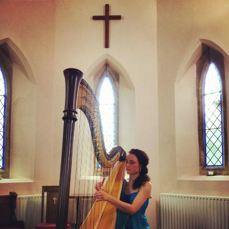 Solo recital at Fringe in the Fen Festival, Cambridge // July 2013
