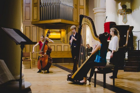 The Hermes Experiment: 'Inspired by Bach' // September 2014 // ©Eliska Haskovcova