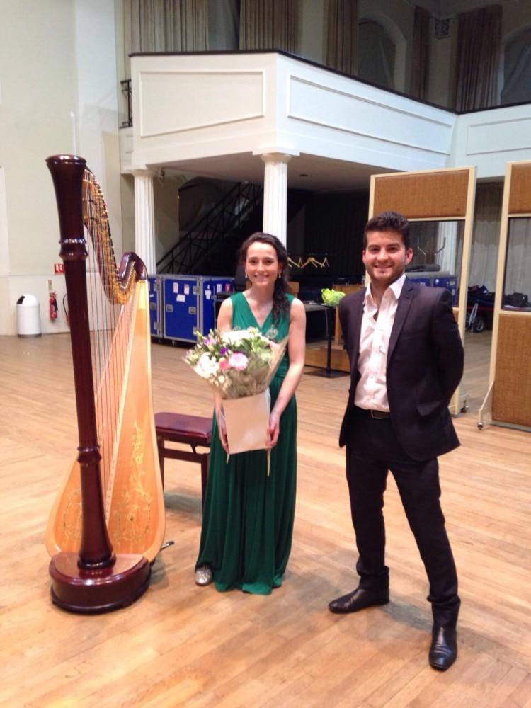 Recital with David de Winter (tenor) @ Henry Wood Hall, London // October 2014