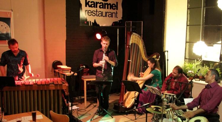 The Kuljit Bhamra Ensemble launch gig // October 2014 // ©Ammy Phull