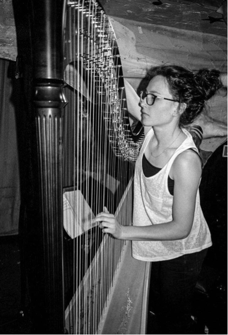 Tuning before Nonclassical's Battle of the Bands // January 2014 // ©Dimitri Djuric