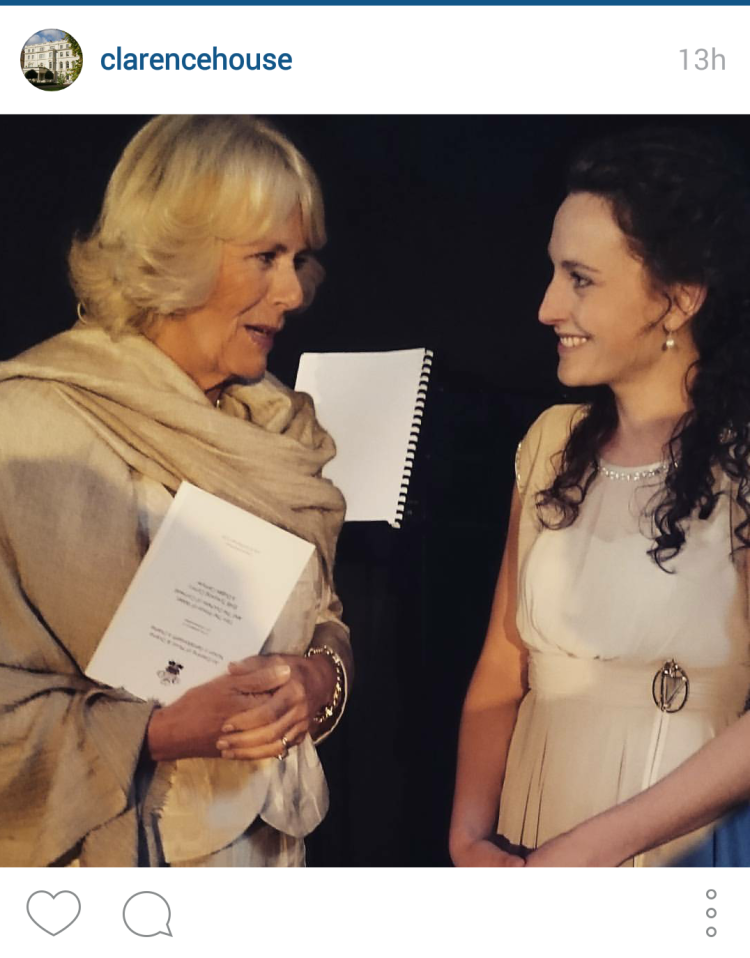 Meeting HRH The Duchess of Cornwall // July 2015 //  © Clarence House