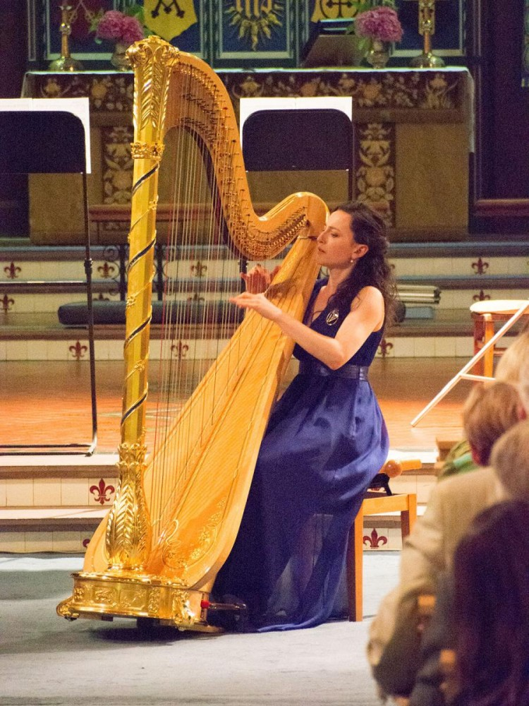Performing at Fishguard International Music Festival // July 2015 // © Sarah Mumford