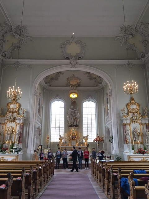 Trinity Boys Choir German Tour - Saarbrücken Basilica // May 2016